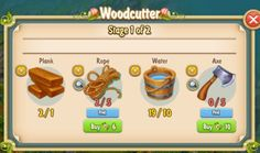 Golden Frontier Woodcutter Stage 1 of 2
