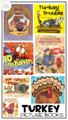 Turkey Picture Books, Thanksgiving Read Aloud Recommendations for the classroom and at home