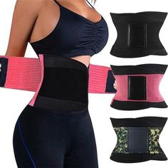 Everybody dreams to have a much trimmer and toned tummy but the mid section flab has always been the hardest to go. Losing weight and a few inches in the waist is a struggle for both men and women Waist trimmer belts are not just new concepts of fashion Waist Trainer Belts are specifically designed to shape the tummy & defines your waistline and maximize your curves to achieve an hourglass figure Waist trainers are perfect for weight loss training workout band or even postpartum support girdles Tummy Slimmer, Toned Tummy, Postpartum Belly, Waist Trainer Corset, Women's Shapewear, Lingerie Set, Female Bodies, Coupon, Gym Shorts Womens
