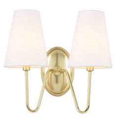 A new take on updated traditional, our Berkshire Double Sconce gracefully combines elegant arms and classic linen shades with a contrasting metal finish to offer an anything-but-traditional look that fits homes of many styles.  * Linen shade; iron fixture * See our full Berkshire collection for coordinating fixtures * Hardwired; professional installation recommended * Suitable for indoor use (UL Rated Dry) * Imported