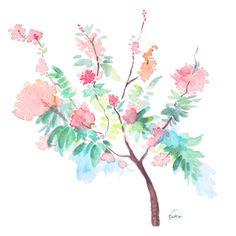 'Peacock Tree' by Susan Lin