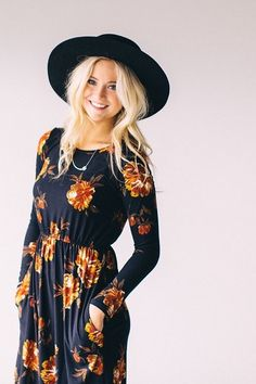floral dress | ROOLEE