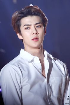 SEHUN❤️ Why soo Hot Oppa? it's hard to breath when I see u pose like this