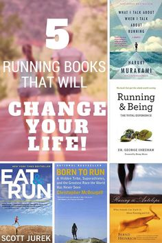 Sharing this great post about 5 running books that will surely change your life.