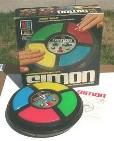 Vintage 70's Simon Game by twitchery, via Flickr