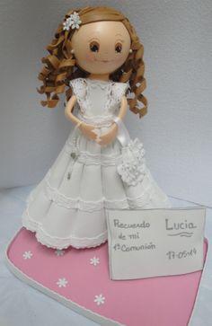 fofucha de comunion hecha por http://contelitas.blogspot.com/