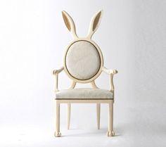chaise lapin par merve kahraman