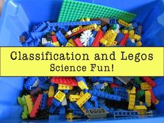 Classification and Legos - wonderful post on using Legos to explore classification of living organisms, including making your own creations and classifying them accordingly.