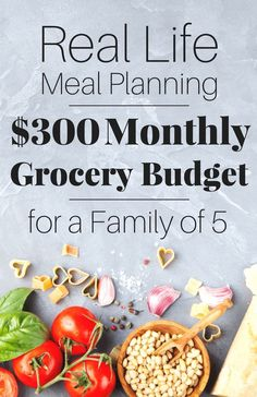 A month of meals on a budget! FREE PRINTABLES! Meal planning is the fastest way for you to save money and drastically cut your budget today! Take a look at exactly how our family of five come in under budget, all thanks to meal planning.