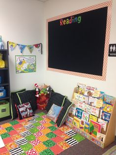 The Clements Crew: My Kinder Classroom 2013 Reading Corner
