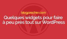Quelques widgets pour faire à peu près tout sur WordPress - Nous aimons widgets. C'est un moyen rapide et facile à emballer plus de contenu d'informations utiles dans tous les coins et recoins de d'un site Web. Qu'ils s'agissent de liens sociaux, des formulaires, les articles récents, tout y passe. Selon le thème WordPress que vous utilisez, vous aurez un... - https://blogpascher.com/plugins-wordpress/quelques-widgets-pour-faire-a-peu-pres-tout-sur-wordpress