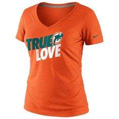 Miami #Dolphins Nike Women's True Love T-shirt. - $27.99