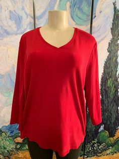 RALPH LAUREN NEW KEYHOLE PEASANT TOP PLUS PEARL 3//4 SLEEVE SOLID NWT