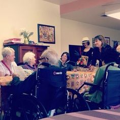 Conducting a group Bible study at a local nursing home in El Paso, Texas. Photo shared by @lovealli_619 Submit your photos etc…