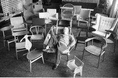 hans j wegner and his chairs