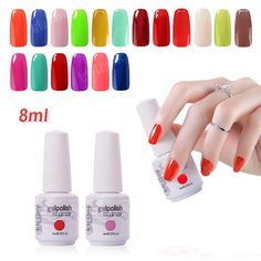 Arte Clavo Choose (Any 1 Color) x 8ml Nail Art  UV Gel Polish Salon Manicure Soak Off Nail Gel Lacquer Led Lamp Nail Polish #>=#>=#>=#>=#> Click on the pin to check out discount price, color, size, shipping, etc. Save and like it!