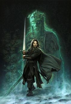 Aragorn knew they had no chance at the Battle of Middle Earth even with 50,000 men. Sauron's armies were just too many in numbers with forces as far as the Easterlings with the mammoths, Olliphants who had come to end the kingdoms of men, elves and dwarves. He must seek the lost army of the undead oathbreakers who dwell under the Dwimoberg, the Haunted Mountain...