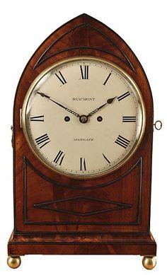 Antique Bracket Clock by Holmden of London