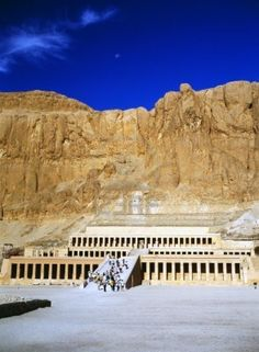 El Valle de las Reinas. Tumba de la Reina Hatshepsut