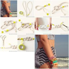 How to make Knot Bracelets How to step by step DIY tutorial instructions