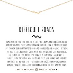 Visit Bryan Anthonys and shop our dainty zig zag Difficult Roads bracelet. Difficult roads lead to the most amazing views. Dainty Necklace, Dainty Jewelry, Silver Necklaces, Jewelry Necklaces, Diamond Jewelry, Jewlery, Craft Jewelry, Silver Jewellery, Silver Rings