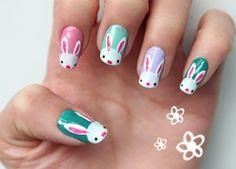 DIY: bunny nail art (Nederlands)