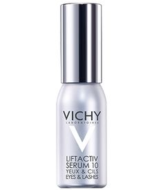 Review, Swatches: Vichy LiftActiv Serum 10 Eyes & Lashes - Hydrates Delicate Eye Area, Fills Out, Conditions Lashes