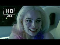 4K: Suicide Squad | official trailer US (2016) Will Smith Margot Robbie - YouTube