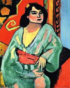 Henri Matisse, L'Algérienne, 1909, Huile sur toile, 81 x 65 cm.
