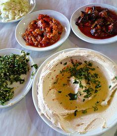 Delicious Israeli cuisine! Israel, Upper Galilee, Al Mukhtar restaurant | by IAISI
