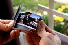 Flipbook Wedding Invitations | Swatch Book Invitations | Unique Wedding Invitations « SHEfinds