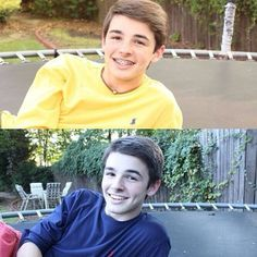 Top one is with braces, bottom is without