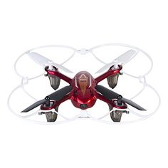 Tech RC Syma X11C 4 Channel 2.4Ghz RC Quadcopter with 2MP HD Camera - Red -- To view further for this item, visit the image link.