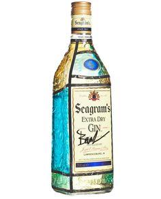 Seagram's lanza una edición limitada de su ginebra cuya botella ha sido personalizada por Baruc Corazón