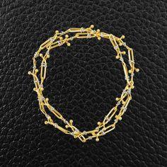 Gold Hikoutani Estate Necklace