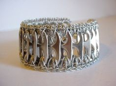 Silver Pull Tab Bracelet  reserved for Pookins ♥ by PopTopLady