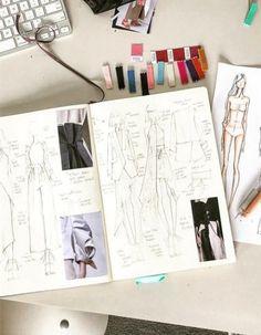 49 ideas for illustration art design sketches fashion sketchbook Mise En Page Portfolio Mode, Mode Portfolio Layout, Fashion Portfolio Layout, Fashion Sketchbook, Sketchbook Ideas, Sketchbook Drawings, Sketchbook Inspiration, Fashion Design Drawings, Fashion Sketches