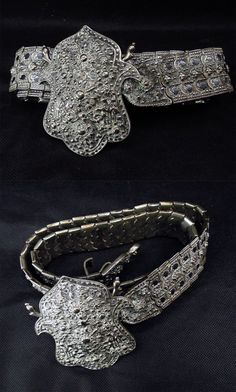 Solid silver Ottoman woman's belt | 18th/19th century | 1,300$