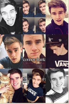 Connor franta:) my favorite youtuber my neighbor kinda looks like him