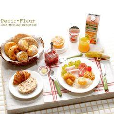 ♡ ♡ Miniature breakfast