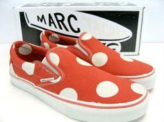 Marc Jacobs x Vans Orange Dots Classic Slip on Orange Vans f50ee9bd2e