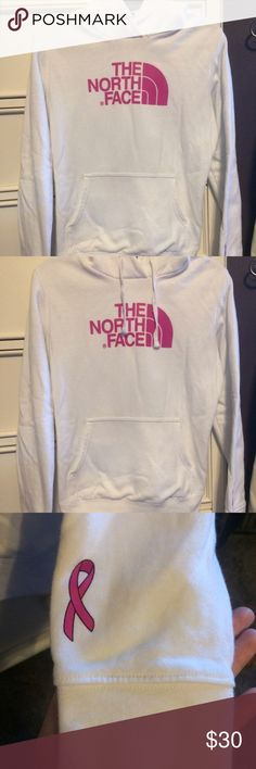 The North Face Breast Cancer Hoodie Super warm and cute! Love the breast cancer ribbon. The North Face Other