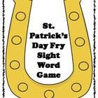 This is a fun St. Patrick's Day themed sight word practice game!  Students will love practicing reading and mastering their sight word recognition ...