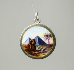 JUGENDSTIL ANHÄNGER ÄGYPTEN Silber BETTELARMBAND ART NOUVEAU CHARM EGYPT A402 | eBay, EUR 160,00
