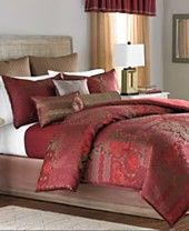 Martha Stewart Collection Manor Patchwork 22-Pc. Comforter Set