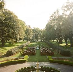 Richmond Hill is below Savannah and I like the thought of living there too. Vio~ http://fordplantation.com/life-ford/weddings/