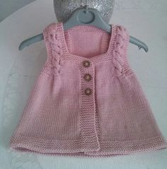 Knitted Baby Clothes, Baby Knitting, Summer Dresses, Fashion, Sweater Vests, Moda, Summer Sundresses, Fashion Styles, Baby Knits