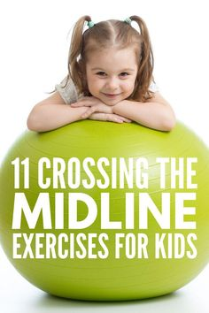 OT at home: 11 crossing the midline exercises for kids 11 Crossing the Midline Activities for Kids Occupational Therapy Activities, Pediatric Physical Therapy, Exercise Activities, Motor Skills Activities, Gross Motor Skills, Exercise For Kids, Sensory Activities, Learning Activities, Preschool Activities