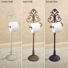 Aldabella Wrought Iron Rest room Paper Stand - All Home Decors Toilet Paper Holder Stand, Paper Holders, Best Toilet Paper, Wrought Iron Decor, Iron Furniture, Cardboard Furniture, Furniture Design, Bath Decor, Tupperware