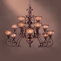 Entry way chandelier